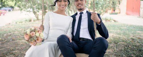 M&F: leur mariage champêtre en Côte d'Or