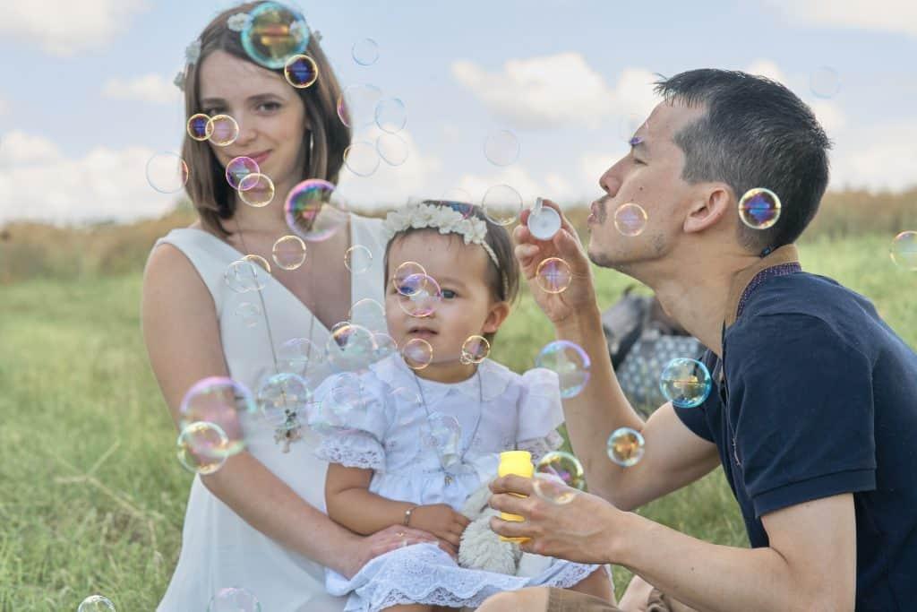 Famille bulle Fontaines-sur-Saône