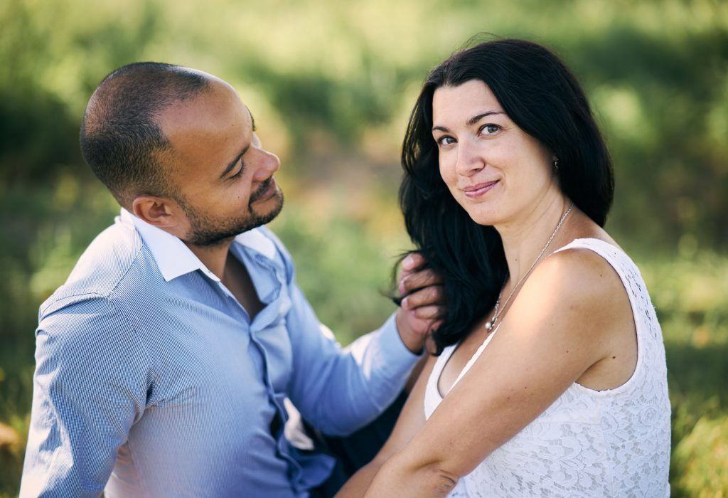 Couple à Fontaines-sur-Saône