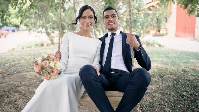 Couple durant mariage Fontaines-sur-Saône