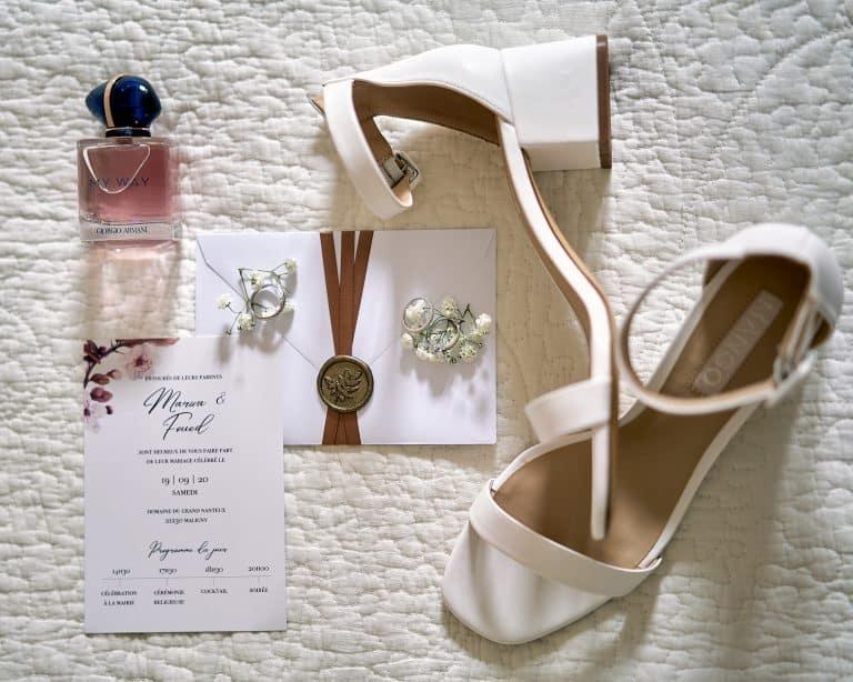 Photo de détails lors mariage rhône alpes