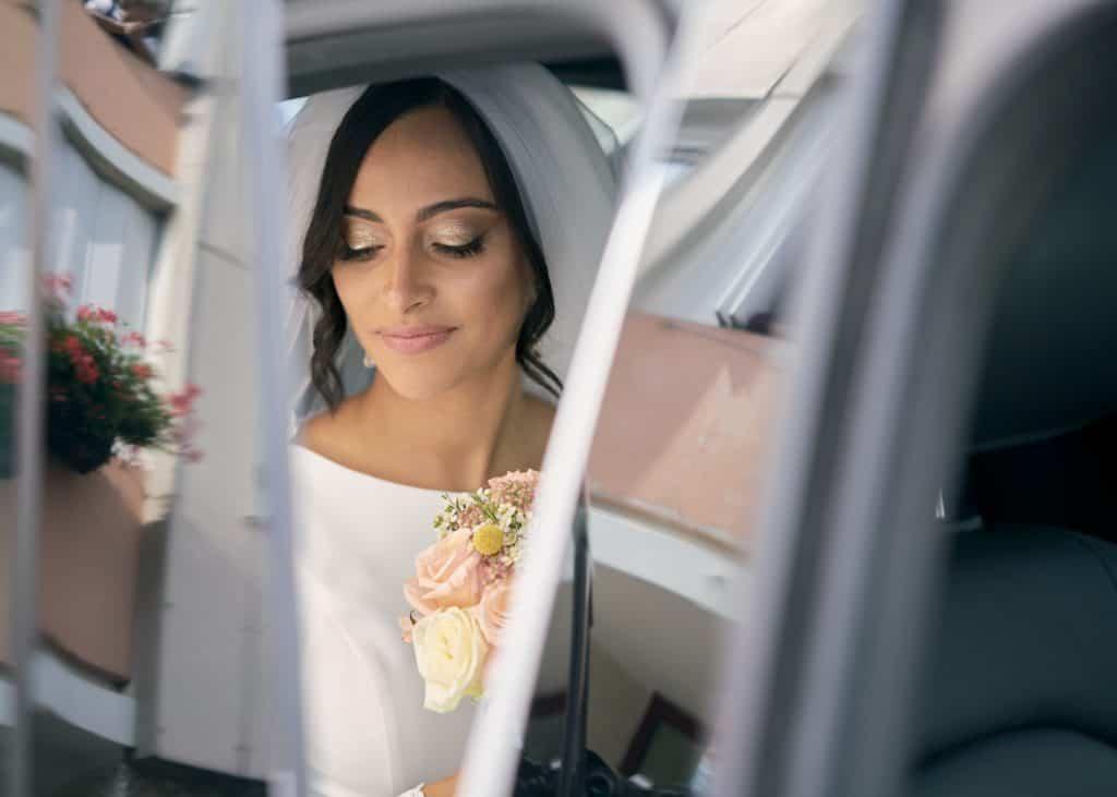 mariée voiture photographe mariages orientaux