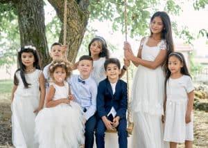 groupes d'enfant mariage oriental photographe lyon