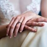 bague de fiançailles mariée lyon