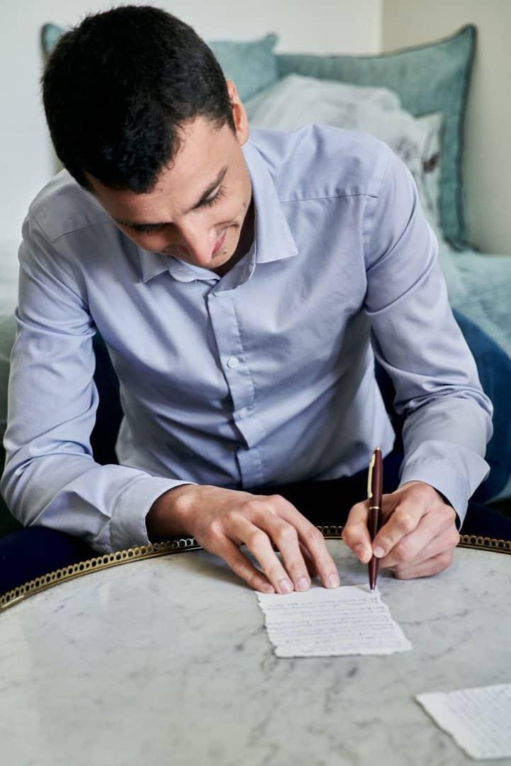 écriture voeux marié mariage idées