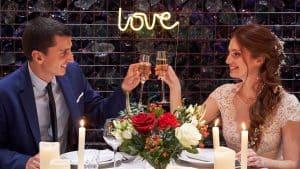 trinquer champagne mariage mariés lyon