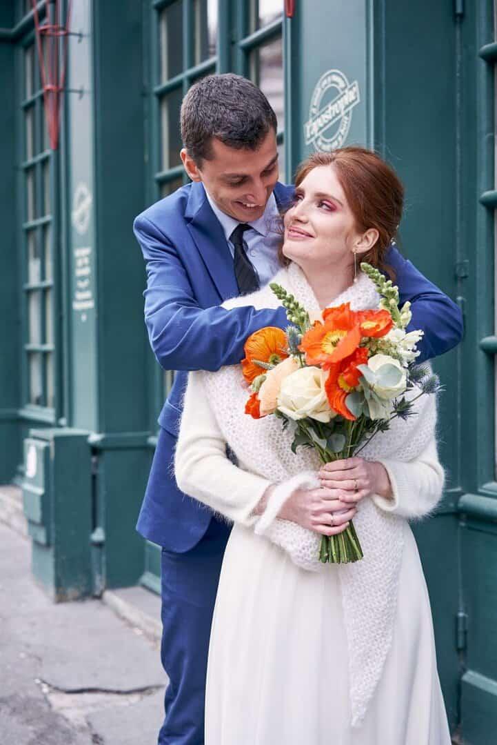 séance couple journée mariage