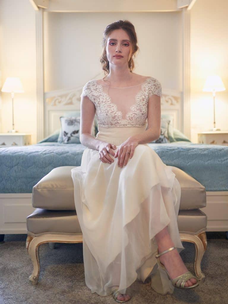 mariée robe chaussures bijoux hôtel lyon