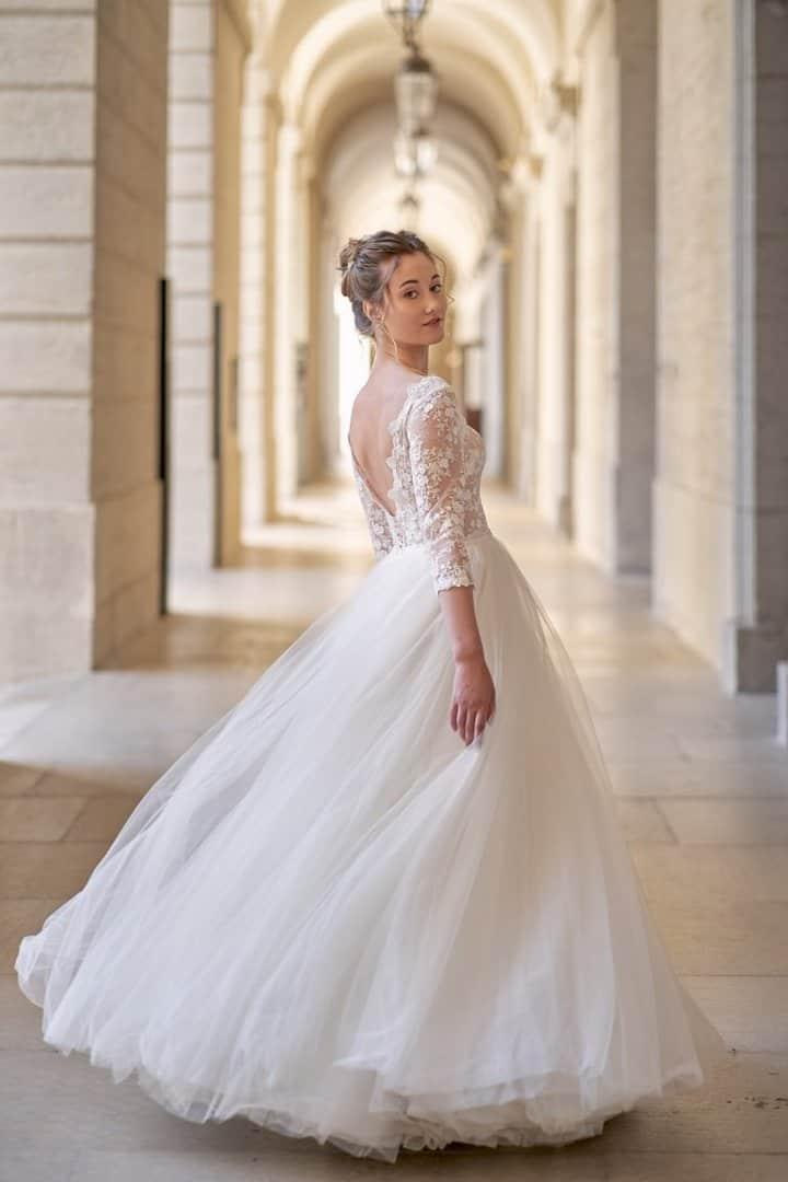 mariée lyon robe