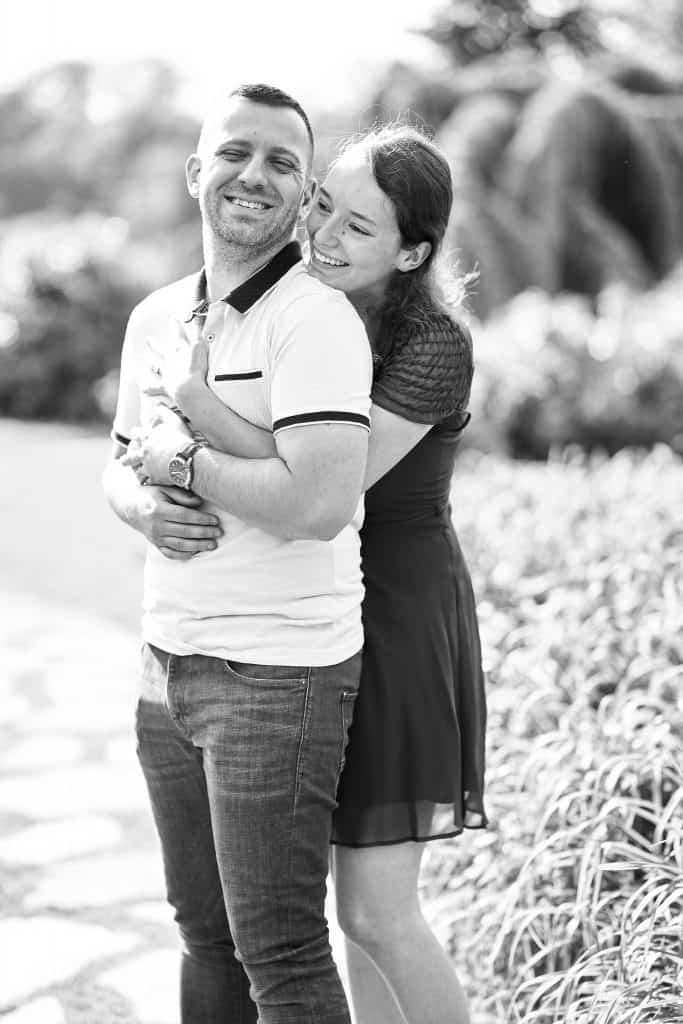 séance photo couple engagement