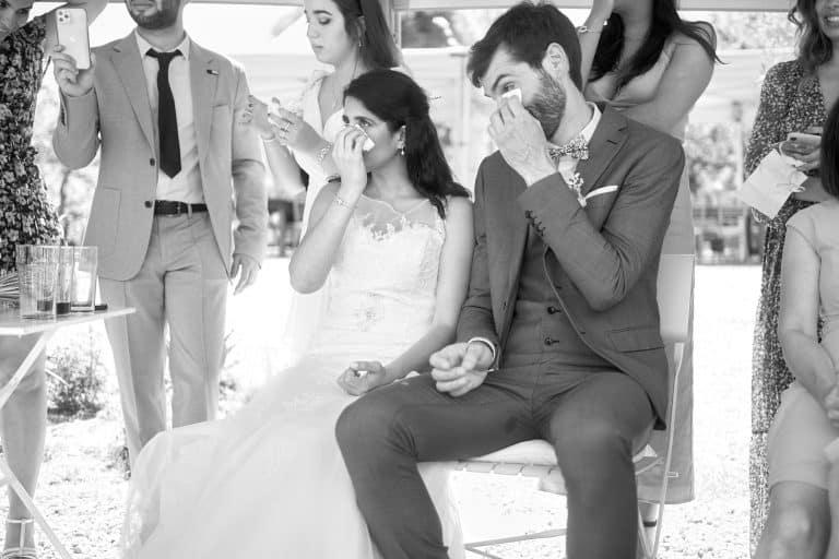 Photo couple ému cérémonie laique mariage