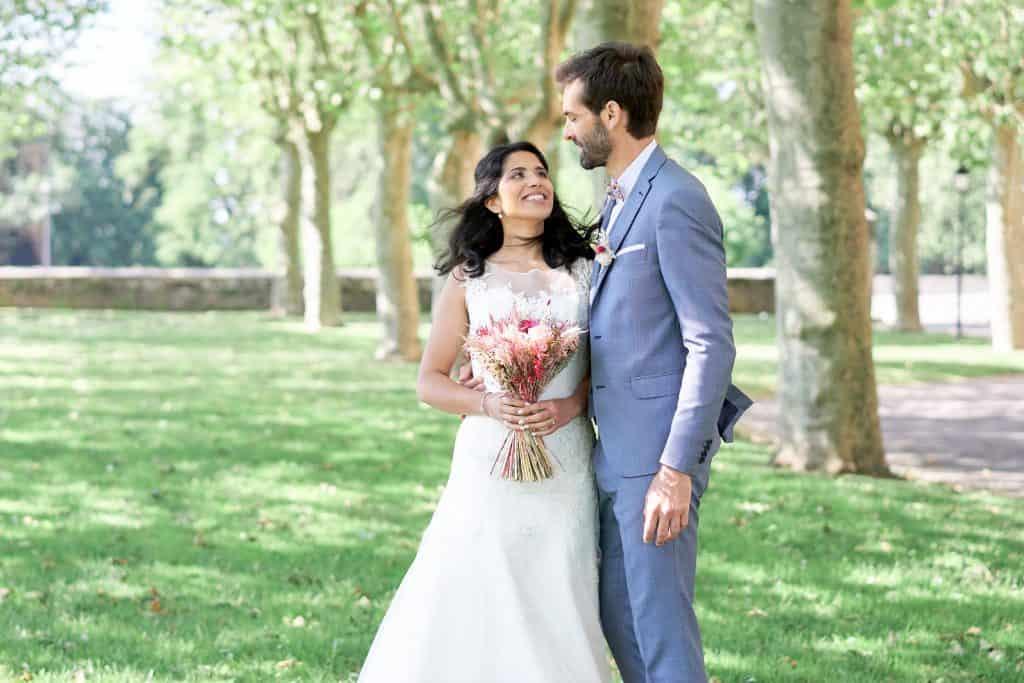 photo first look saone et loire mariés