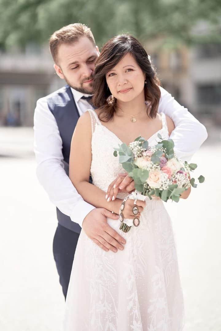 mairie vileurbanne mariée juillet couple
