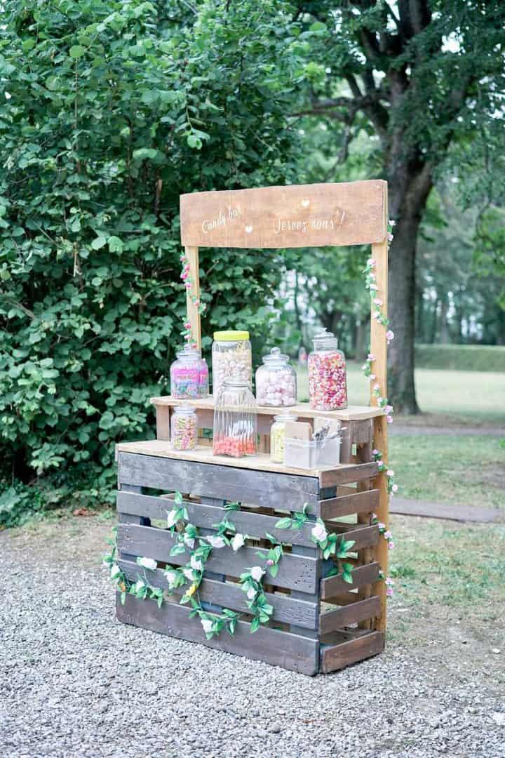 bonbons mariage bar à bonbons