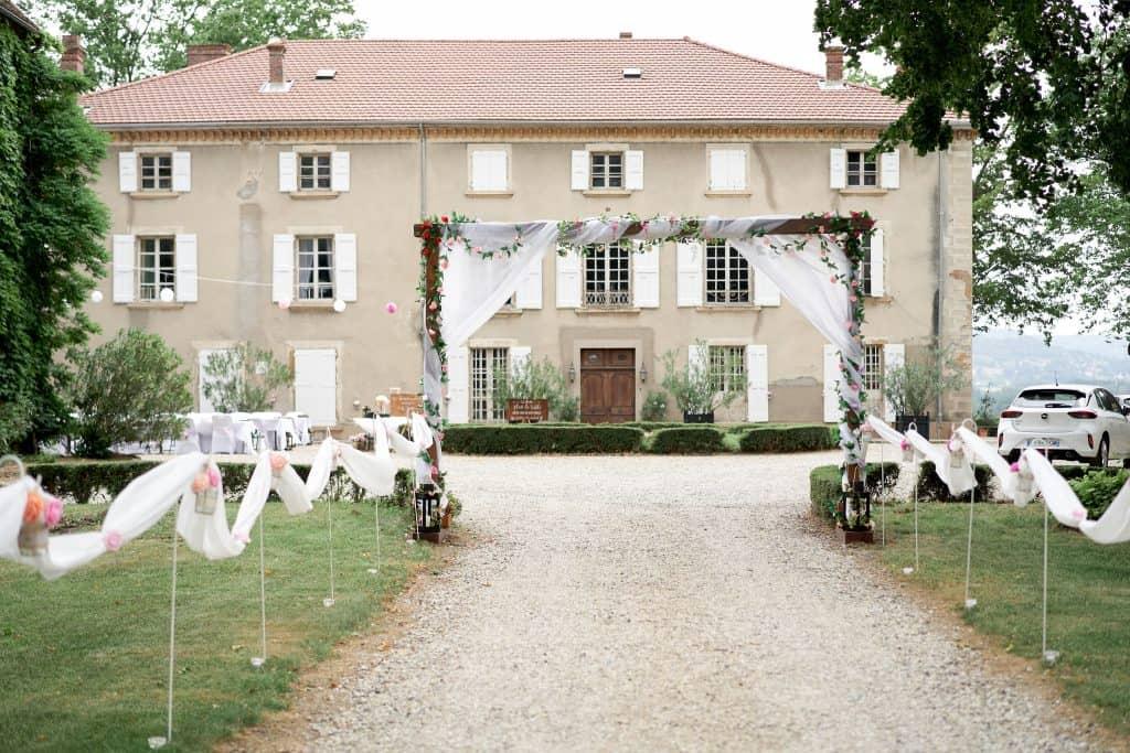 château de joyeuse mariage