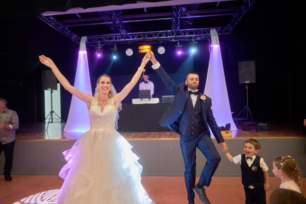 photo de soirée mariage danse