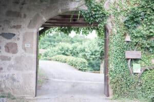 porche château charfetain mariage