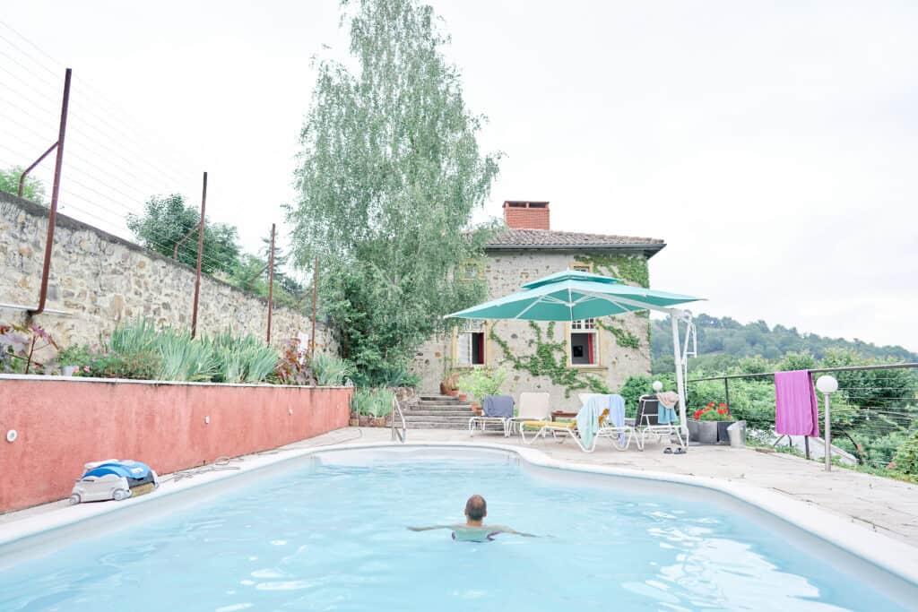 piscine chateau lieu de réception mariage