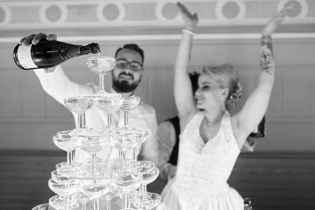 champagne mariage soirée jura