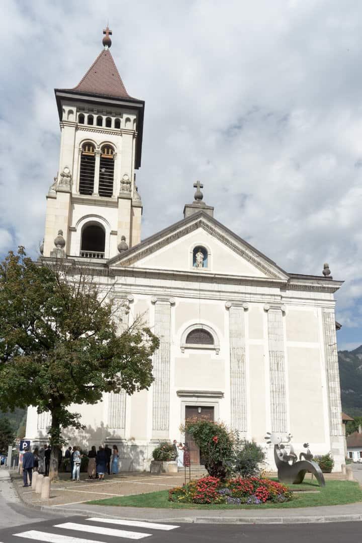 église proche annecy mariage