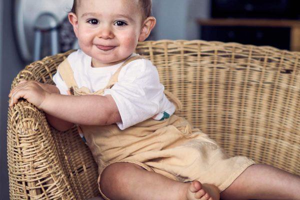 fauteuil en osier bébé