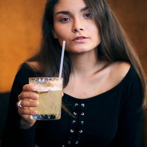 Bar photo portrait